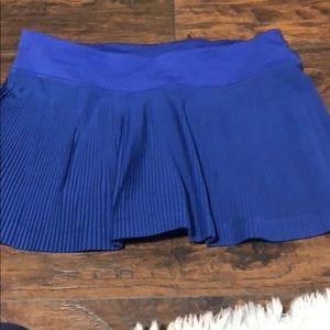 🍋 Lululemon NWT blue pace setter skirt